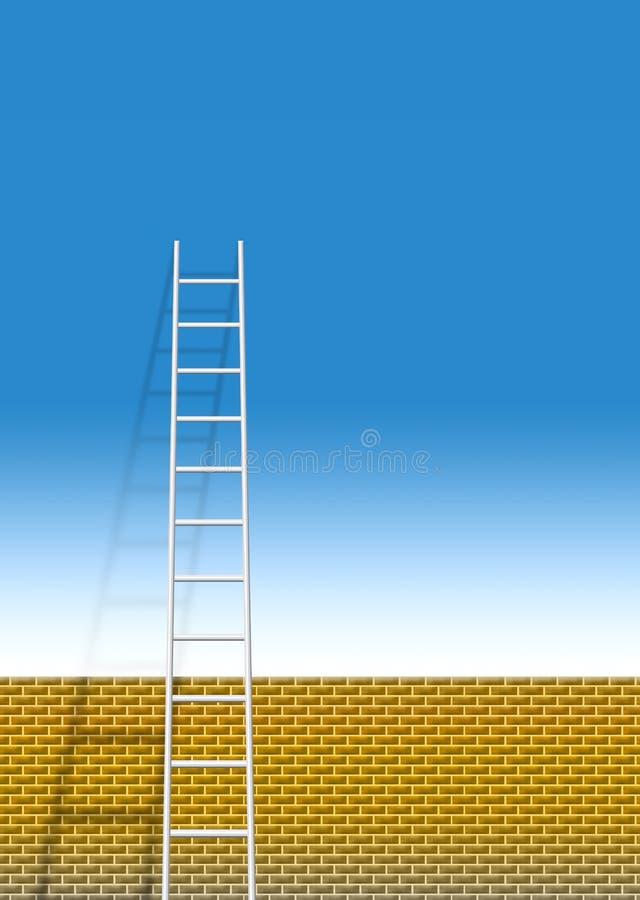 Ladder vector illustration