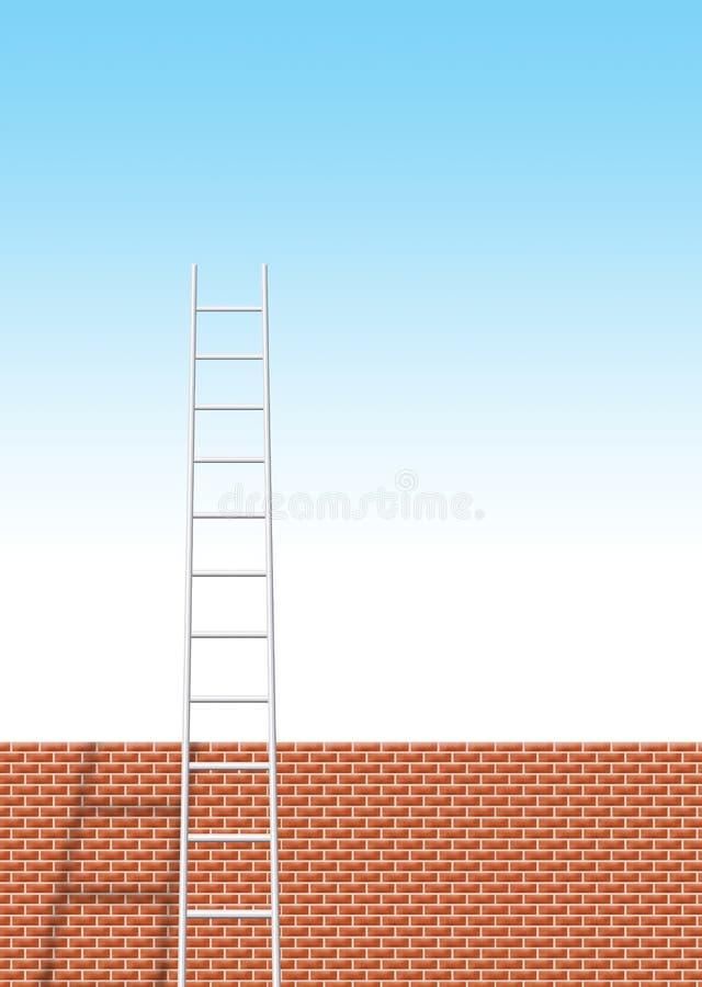 Ladder royalty-vrije illustratie