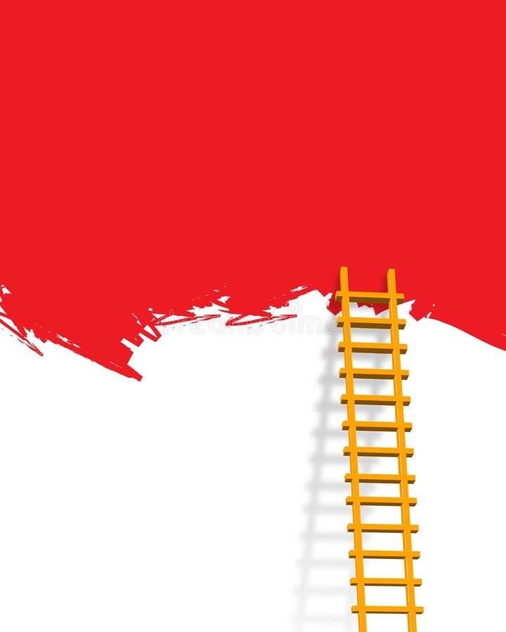 Download Ladder stock illustration. Image of advt, marketing, sign - 6354011