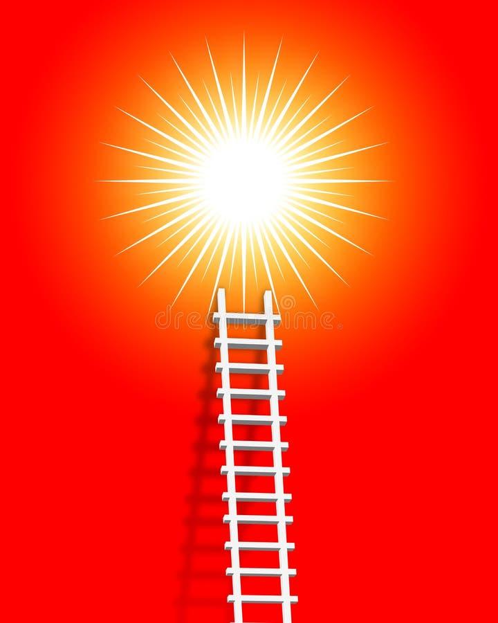 Download Ladder stock illustration. Image of high, service, ladder - 6354081