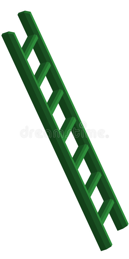 Ladder stock illustration