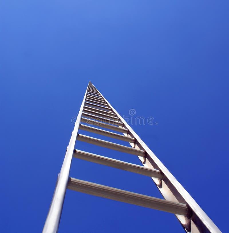 Ladder aan de hemel royalty-vrije stock afbeelding
