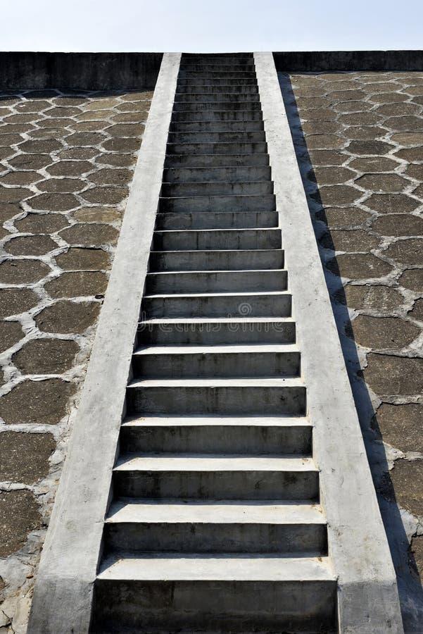 Ladder aan de Hemel, de weg aan hemel stock fotografie