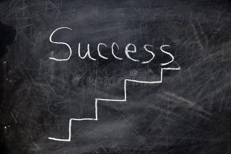 Ladder aan Succes royalty-vrije stock afbeelding