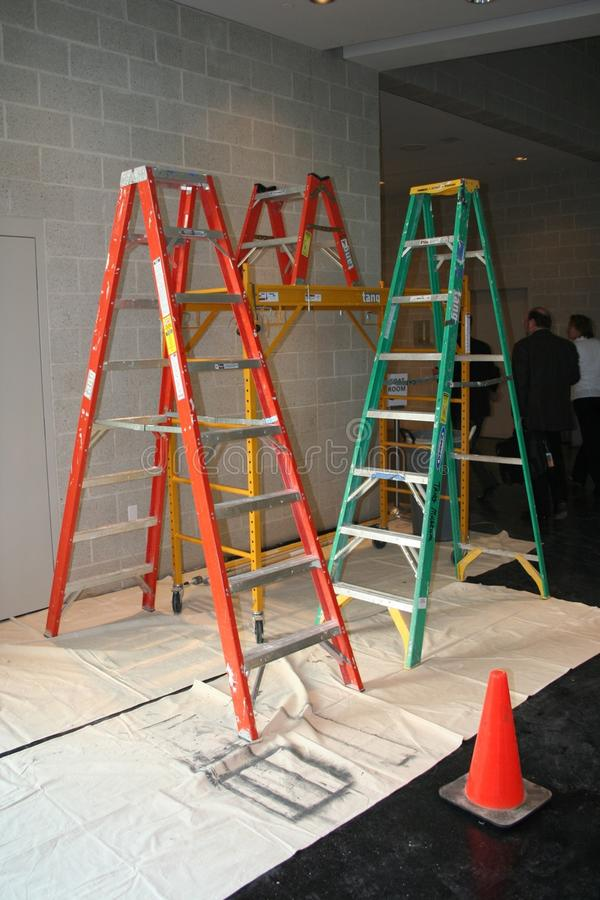 Ladder Art stock photography