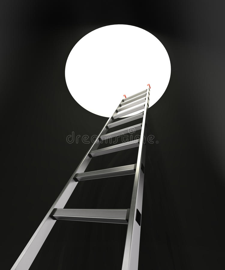 Download Ladder and hole stock illustration. Image of climb, manhole - 22578249