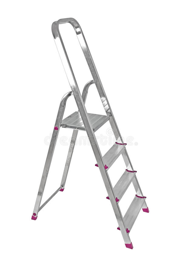 Download Ladder isolated on white stock photo. Image of ladder - 13075136
