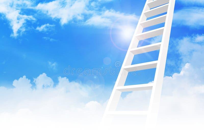 Ladder To Success stock photos