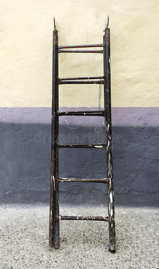 Download Ladder painter stock image. Image of housing, stained - 27361425