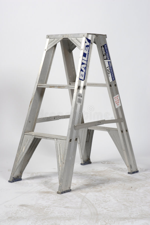 Ladder - Step stock photo