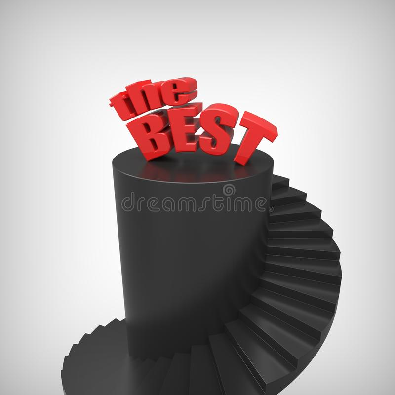 Download Ladder of success. . stock illustration. Image of development - 23821990