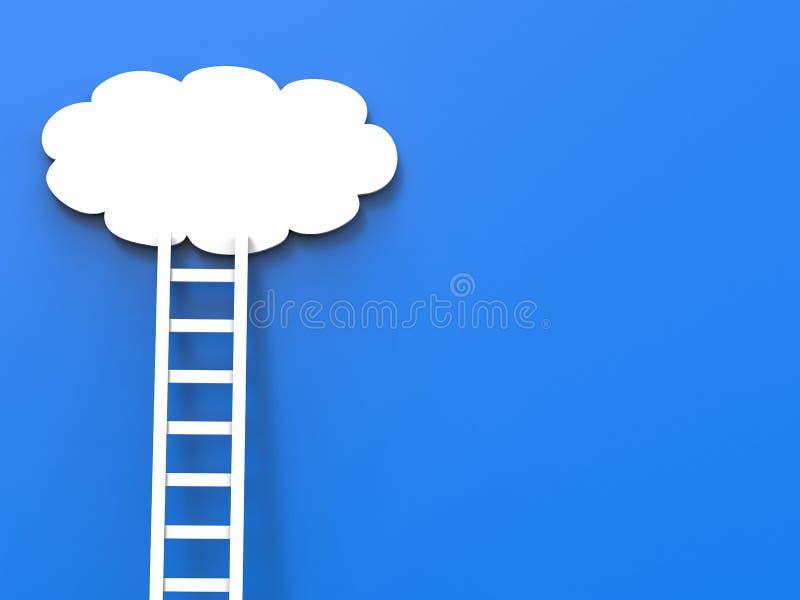 Ladder of success concept vector illustration