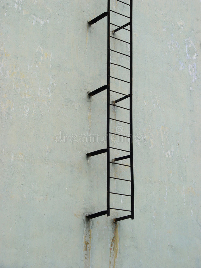 Ladder to heaven stock photography
