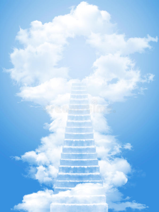 Free Ladder To Sky Royalty Free Stock Photo - 14214475