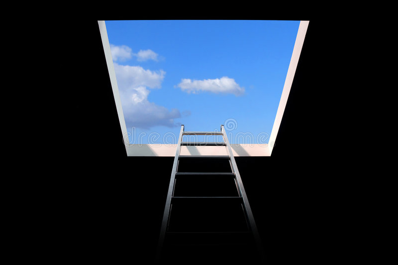 Download Ladder To The Sky Royalty Free Stock Image - Image: 5705096