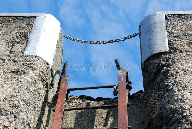 Ladder to the sky. royalty free stock photos