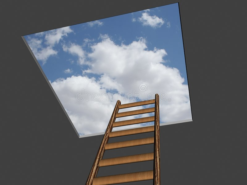 Download LADDER TO SUCCESS stock illustration. Image of corporate - 1114925