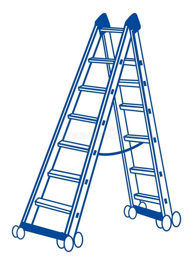 Download Ladder Vector stock vector. Illustration of build, background - 12895598