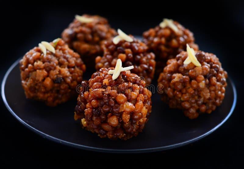 Laddoo indiano del KE di boondi del dolce-cavolo fotografie stock libere da diritti