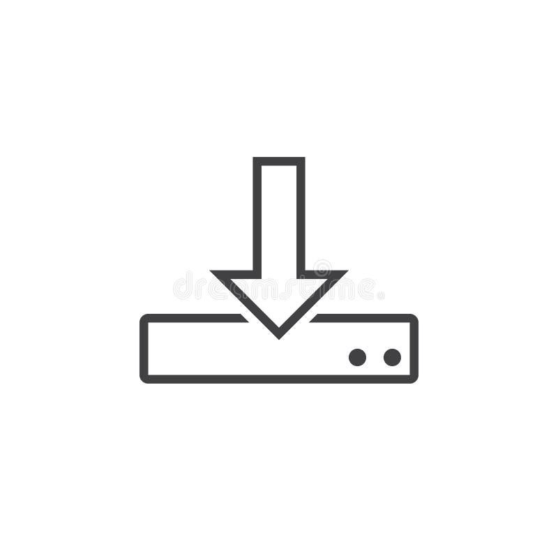 Download Laden Sie Linie Ikone, Entwurfslogoillustration, Linearer Pic Herunter Stock Abbildung - Illustration von abbildung, pictogram: 90235115