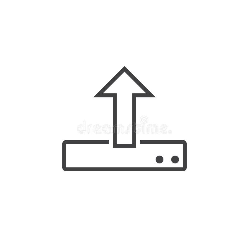 Download Laden Sie Linie Ikone, Entwurfslogoillustration, Lineares Picto Stock Abbildung - Illustration von zeile, abbildung: 90234959