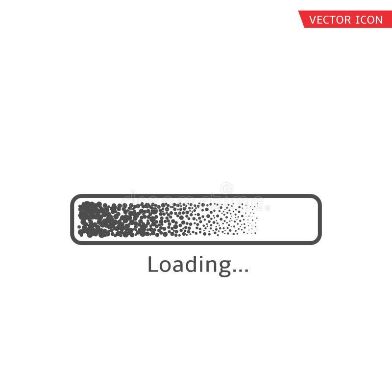 Ladend vectorpictogram stock illustratie