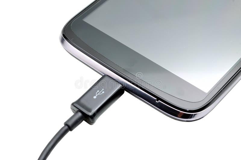 Ladende mobiele telefoon royalty-vrije stock foto's