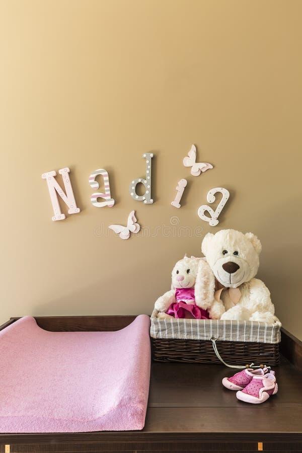 Ladenkast met teddyberen royalty-vrije stock afbeeldingen