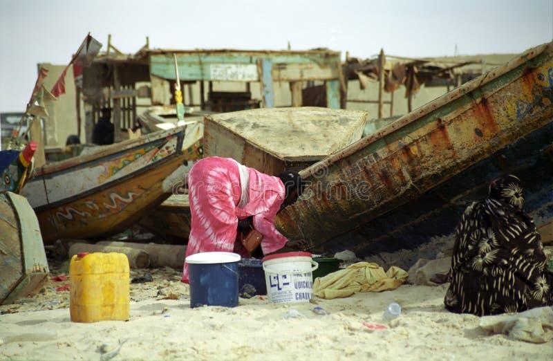 Download Ladies On The Beach, Nouakchott, Mauritania Editorial Stock Image - Image: 15687319