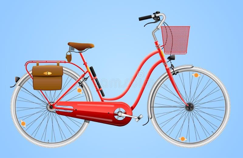 Ladies Bicycle Royalty Free Stock Photos