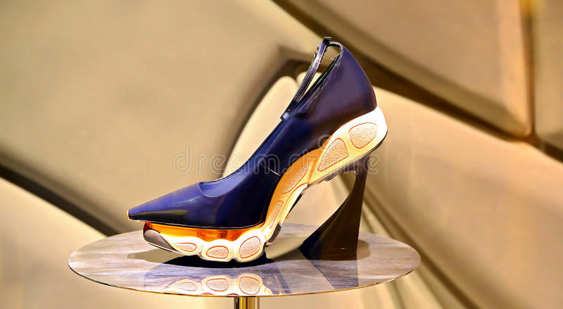 Ladies elegant fashion shoe royalty free stock image