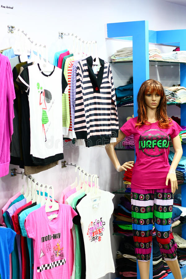 Download Ladies Fashion Retail Outlet In India Stock Photo - Image: 22959496
