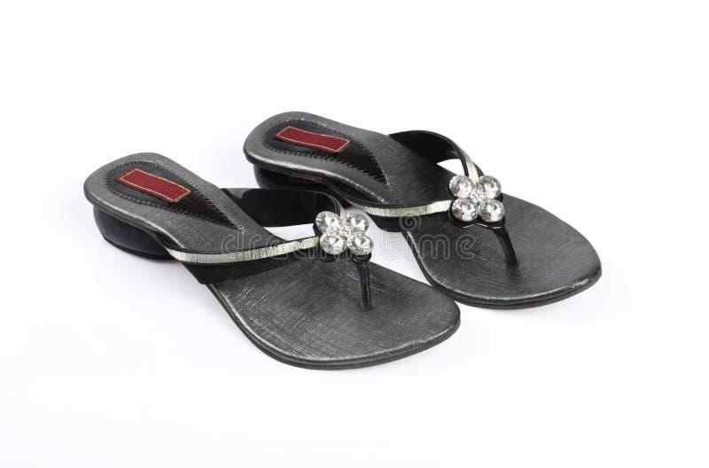 Ladies footwear stock photography