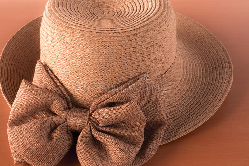 Ladies hat. Beauty and Fashion for women stock photography
