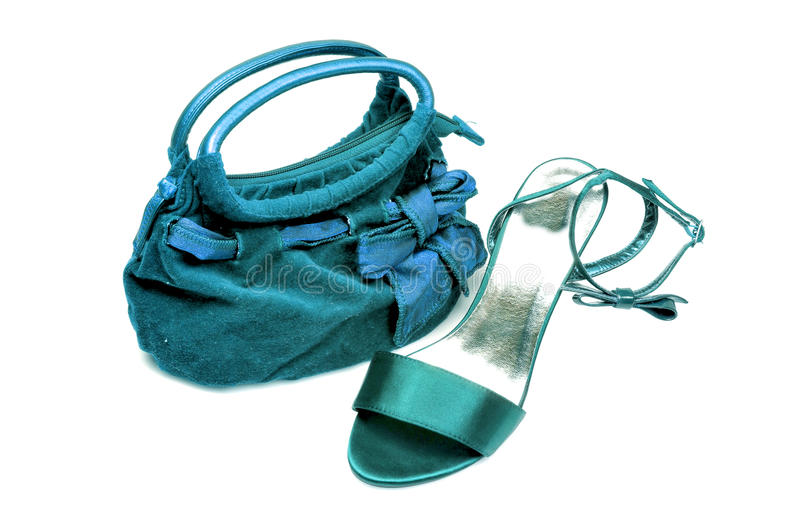 Download Ladies Purse And Sandle Stock Photography - Image: 9899932