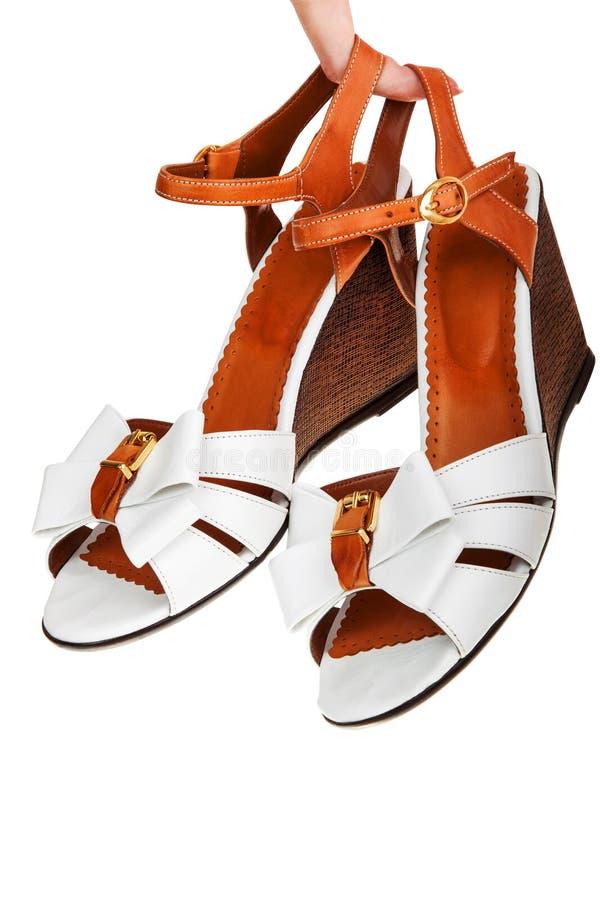 Ladies Sandals Stock Photo