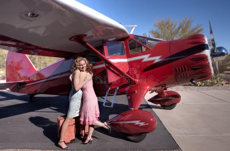 Download Ladies Saying Goodbye Royalty Free Stock Photography - Image: 11949127