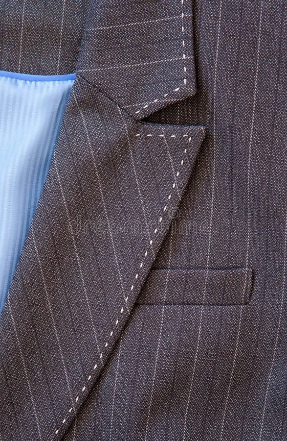 Ladies suit. Close up of the front of a formal ladies' business suit royalty free stock photography