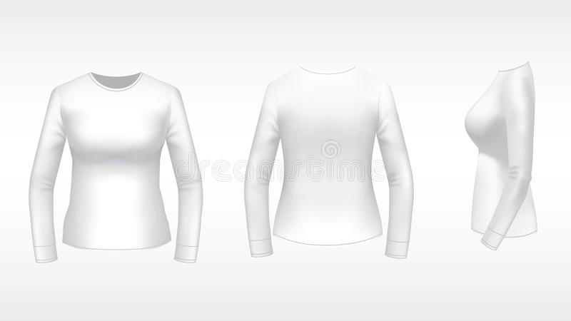 Womens Elements Distressed Long Sleeve
