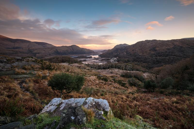 Ladies View Killarney National Park royalty free stock image
