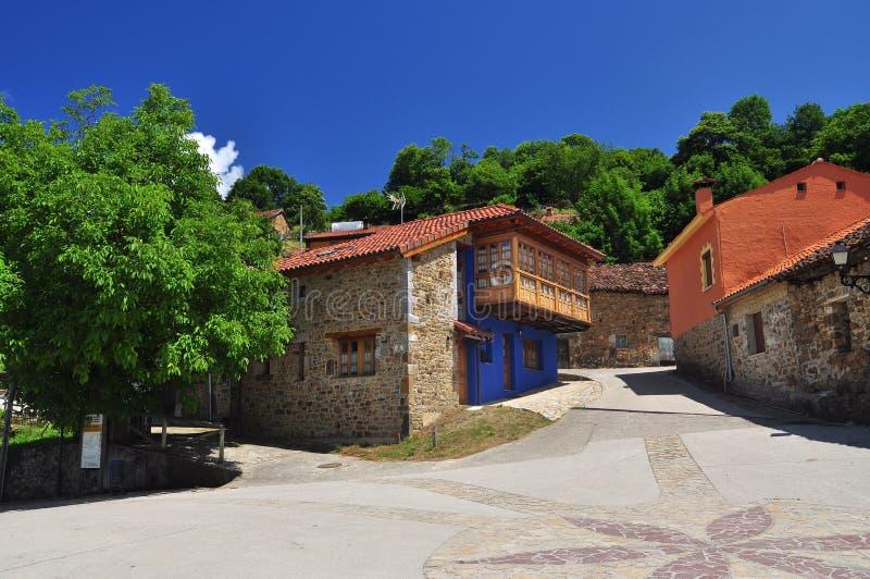Ladines village, Sobrescobio, Asturias, Spain