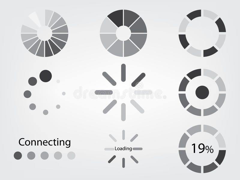 Ladingspictogram vector illustratie