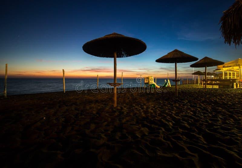 Ladispoli Beach. Location: Ladispoli, Rome stock images