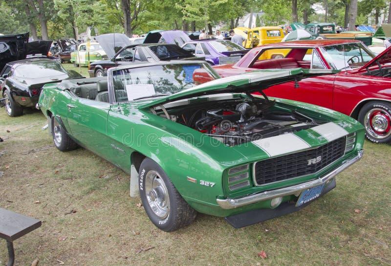Download Lado 1969 De Chevy Camaro RS Foto Editorial - Imagem de motor, haste: 26506286