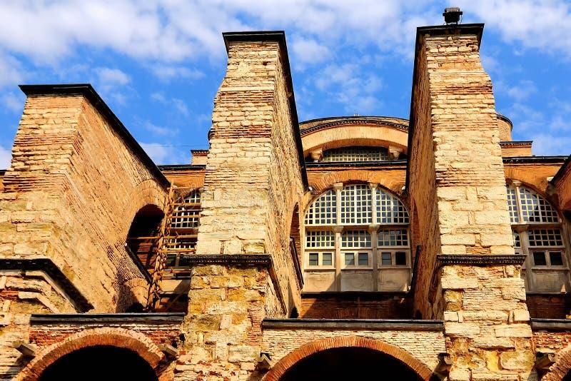 Lado de Hagia Sophia imagens de stock royalty free