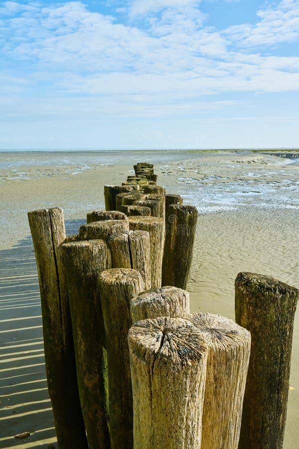 Lado de mar em Brittany, ondes do DES do benoît de Saint, França foto de stock royalty free