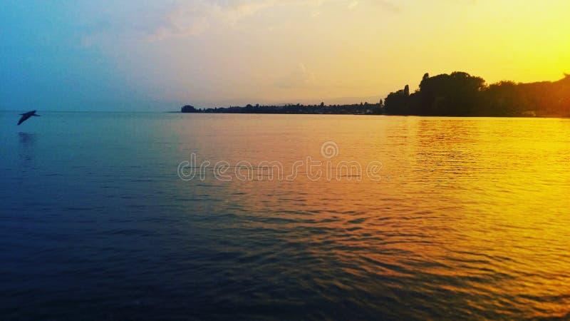 Lado del lago imágenes de archivo libres de regalías
