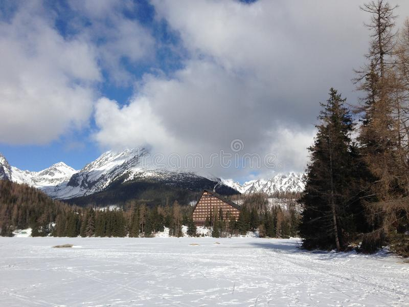 Lado del país del invierno imagen de archivo libre de regalías