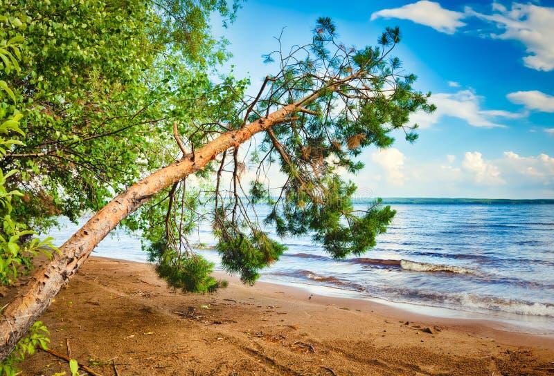 Lado del río de Kama imagen de archivo libre de regalías