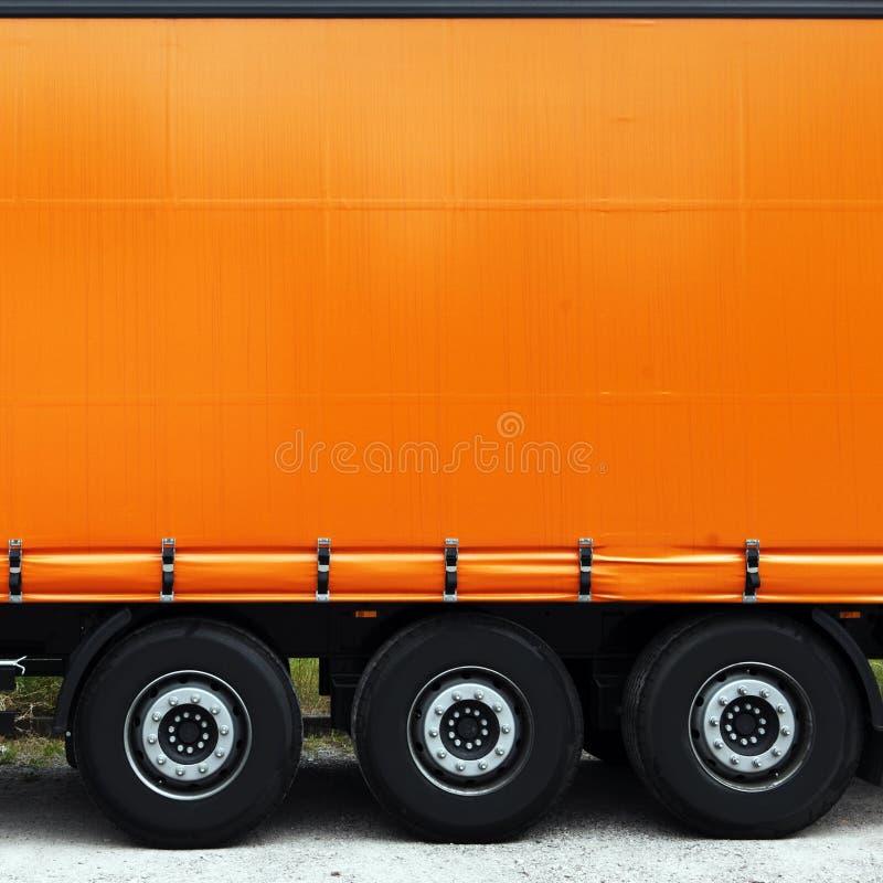 Lado do caminhão ou do camião foto de stock